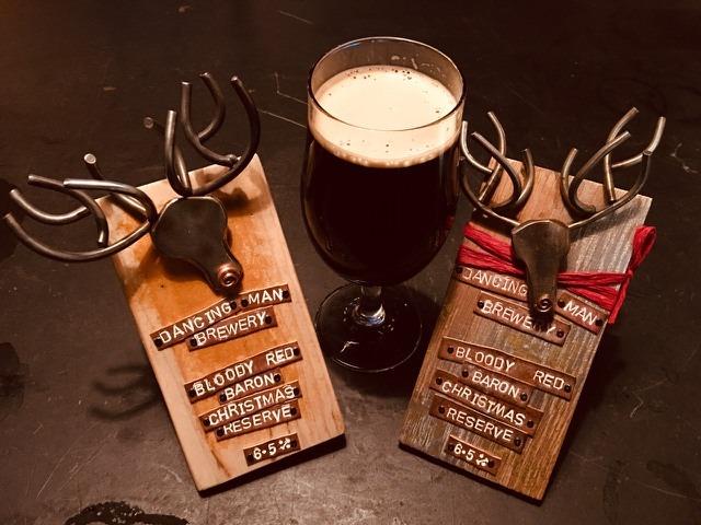 Festive spirit…Old Ale actually